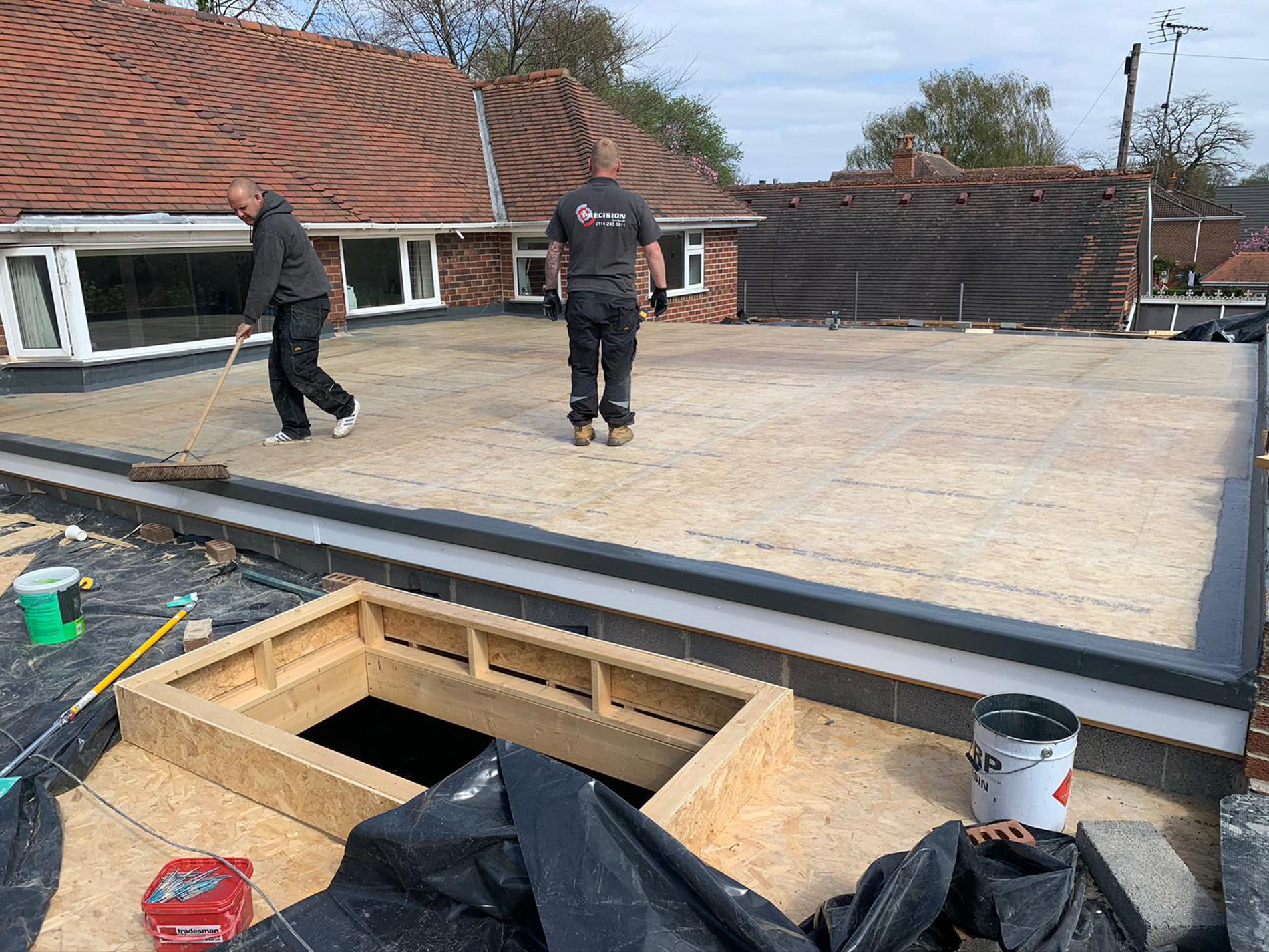 The-new-flat-roof